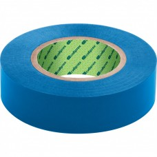 Изолента ПВХ, 15 мм х 10 м, синяя СИБРТЕХ