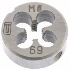 Плашка М6 х 1,0 мм СИБРТЕХ