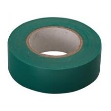 Изолента ПВХ, 15 мм х 10 м, 130 мкм, зеленая СИБРТЕХ