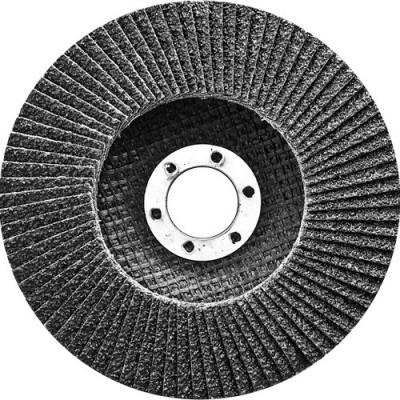 Круг лепестковый торцевой, конический, Р 60, 150 х 22,2 мм СИБРТЕХ